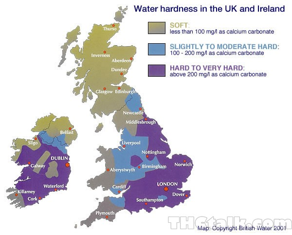Uk Drinking Water Quality Map