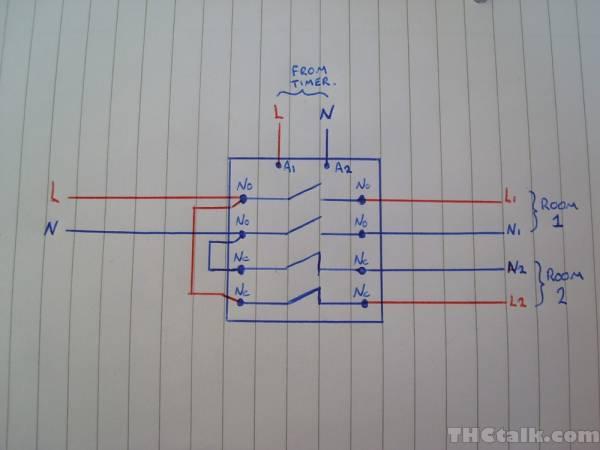Flip Flop Lighting System Diagram